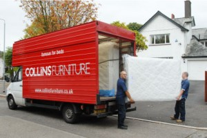 Delivery Collins Furniture Belfast