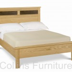Denver oak bedstead
