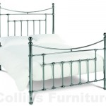 Claudia Nickel Metal Bedstead
