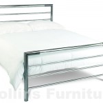 Urban Nickel Metal Bedstead